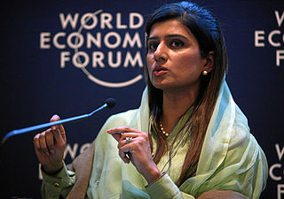 Hina Rabbani Khar at World Economic Forum Annual Meeting, 2012