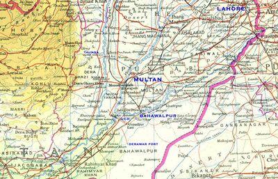 Pakpattan Jatland Wiki - Pakpattan map